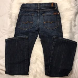 7 for all mankind bootcut jeans girls size:7